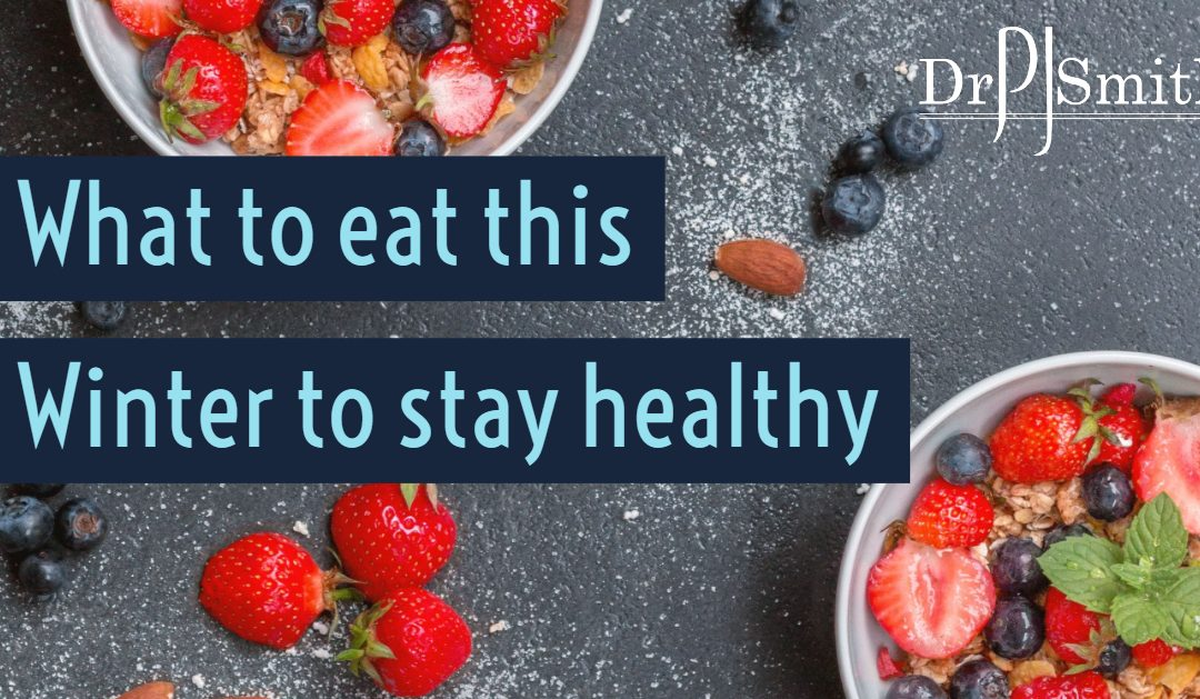 Dr Smith social post what to eat to stay healthy this winter